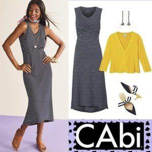 Cabi #5610 Nautical Launch Midi Dress S